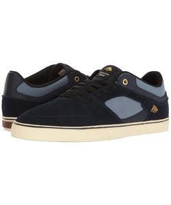 Emerica | The Hsu Low Vulc Navy Mens Shoes