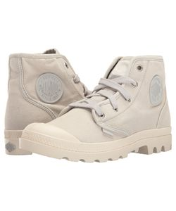 Palladium | Pampa Hi Lunar Rock/Marshmallow Womens Lace-Up Boots