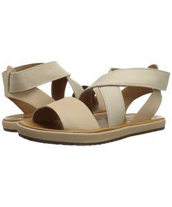 Corso Como | Brune Nude Leather Womens Sandals
