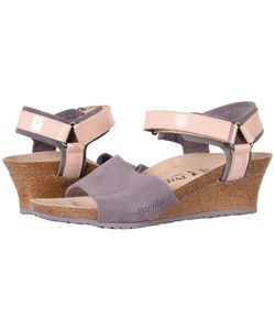 Birkenstock   Eve Lilac Suede Womens Shoes