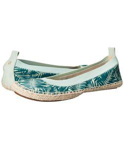 Yosi Samra | Lara Sage/Pine Womens Flat Shoes