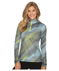 Spyder | Collection T-Neck Top Geo Rays Acid Print Womens Long