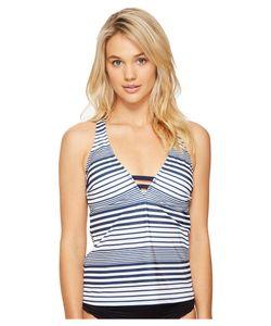 Nautica | Seabrook Racerback Tankini Top Womens Swimwear