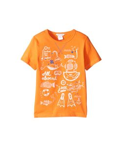 Little Marc Jacobs | Sea Animation Or Boat Print Short Sleeve