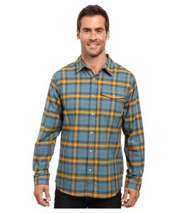 MOUNTAIN HARDWARE | Drummond Long Sleeve Shirt Cloudburst Mens Long Sleeve
