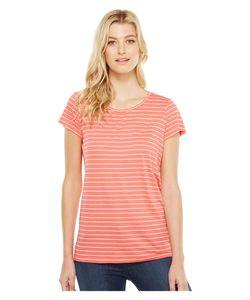 Pendleton | Summer Stripe Tee Coral Womens T Shirt