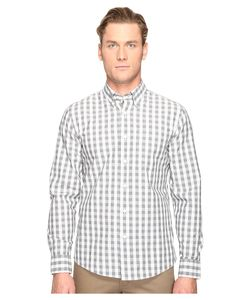 Jack Spade   Heathered Gingham Button Down Mens Clothing