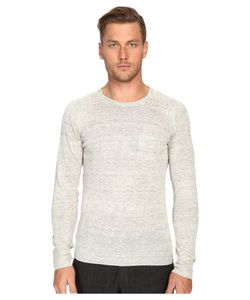 TODD SNYDER | Saddle Pocket Crew Sweater Light Mens Sweater