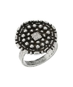 DANNIJO | Gamma Ring Ox Clear Ring