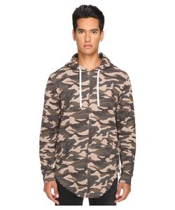 Pyer Moss | Out In The Open Hoodie Camo Mens Sweatshirt