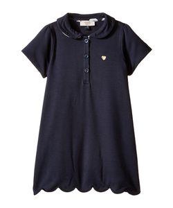 Armani Junior | Short Sleeve Dress With Scallop Hem Infant
