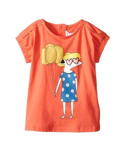 Little Marc Jacobs | Jersey Tee Shirt With Mouse Or Beach