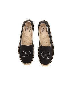 Soludos   Hi Embroidered Platform Smoking Slipper Womens Slippers