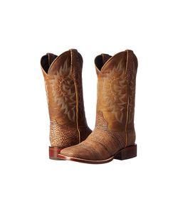 Stetson   Shield Tan Bull Mens Boots