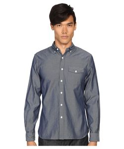 TODD SNYDER | Italian Oxford Patch Flap Shirt Mens Clothing