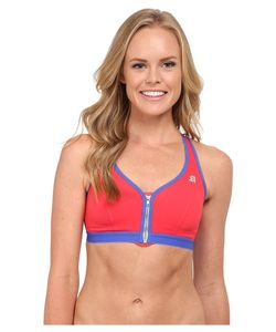 Shock Absorber | Active Zipped Plunge Sports Bra S00bw Womens