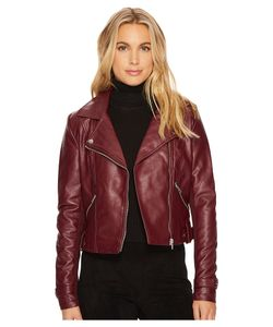 ROMEO & JULIET COUTURE | Romeo Amp Juliet Couture Amour Pu Biker Jacket Womens