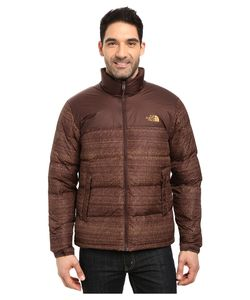 The North Face | Nuptse Jacket Coffee Bean Twitch Print/Coffee