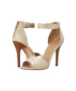 Nicole Miller Artelier | Cocoa Ivory Lace Womens Shoes