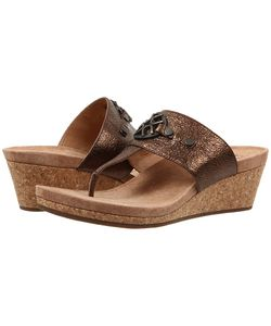 UGG Australia | Briella Pony Leather Womens Wedge Shoes