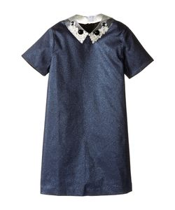 Little Marc Jacobs | Glittered Dress Fancy Cabochons Removable Collar Little