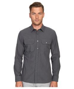 TODD SNYDER | Utility Shirt Charcoal Mens Clothing