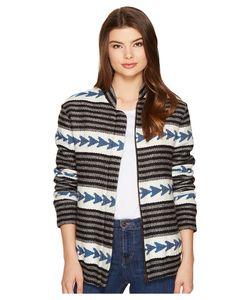 INTROPIA | Arrow Jacket Ocean Womens Coat
