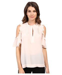 Nanette Lepore | Dragonfly Top Blush Womens Clothing