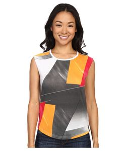 Spyder | Choyce Top Multi Color Shield Print Womens Sleeveless