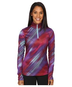 Spyder | Collection T-Neck Top Geo Rays Voila Print Womens Long