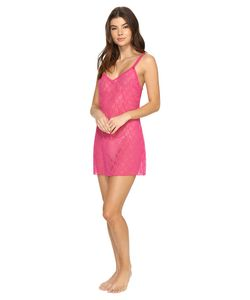 b.tempt'd | Lace Kiss Chemise Yarrow Womens Pajama