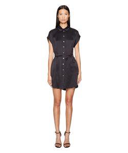 LaMarque   Anaba-S Sueded Silk Shirtdress Womens Dress