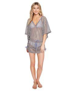 Luli Fama | Desert Babe Cabana V-Neck Dress Cover-Up Moon