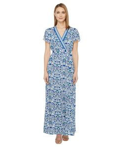 Hale Bob | All Mixed Up Rayon Woven Maxi Wrap Dress