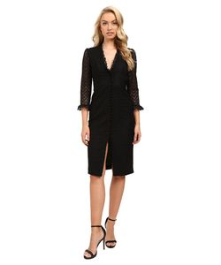 JILL JILL STUART | Deep-V Lace Dress Womens Dress