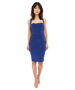 Laundry By Shelli Segal | X-Back Jersey Cocktail Dress Beret