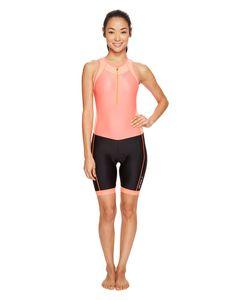 2XU   X-Vent Front Zip Trisuit Fiery Coral Womens Race Suits