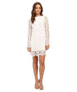 STONE_COLD_FOX | Alice B Toklas Dress Ivory Lace Womens