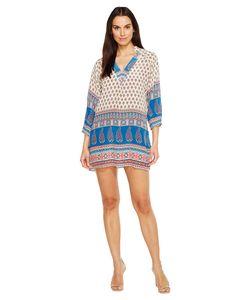 Tolani | Nisha Tunic Dress Ivory Womens Dress