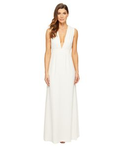 JILL JILL STUART | Sleeveless Deep-V Side Cut Out Satin Back