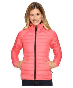 ADIDAS OUTDOOR | Hybrid Down Hooded Jacket Super Blush Womens Coat