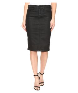 BLANKNYC | Coated Pencil Skirt In All Lacquered Up