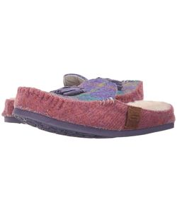 Bedroom Athletics | Charlotte Lilac Check Womens Slippers