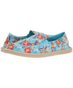 Sanuk | Donna Aloha Aqua Waikiki Womens Slip On Shoes