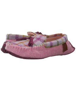 Bedroom Athletics | Zara Lilac Check Womens Slippers
