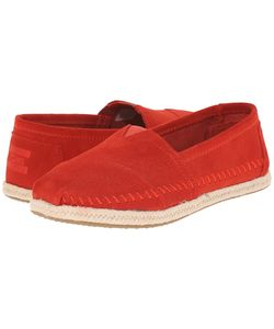 Toms | Seasonal Classics Suede/Rope Womens Slip On Shoes