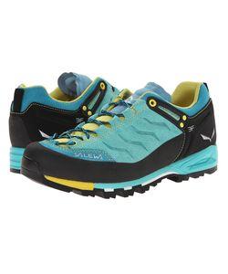 Salewa | Mountain Trainer Bright Acqua/Mimosa Womens Shoes