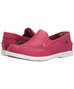 Sebago | Liteside Slip-On Dark Leather Womens Shoes