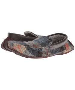 Bedroom Athletics | George Natural Check Mens Slippers