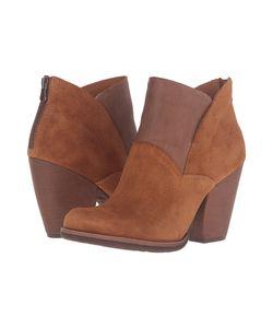 Kork-Ease | Castaneda Rust Suede/Full Grain Womens Zip Boots